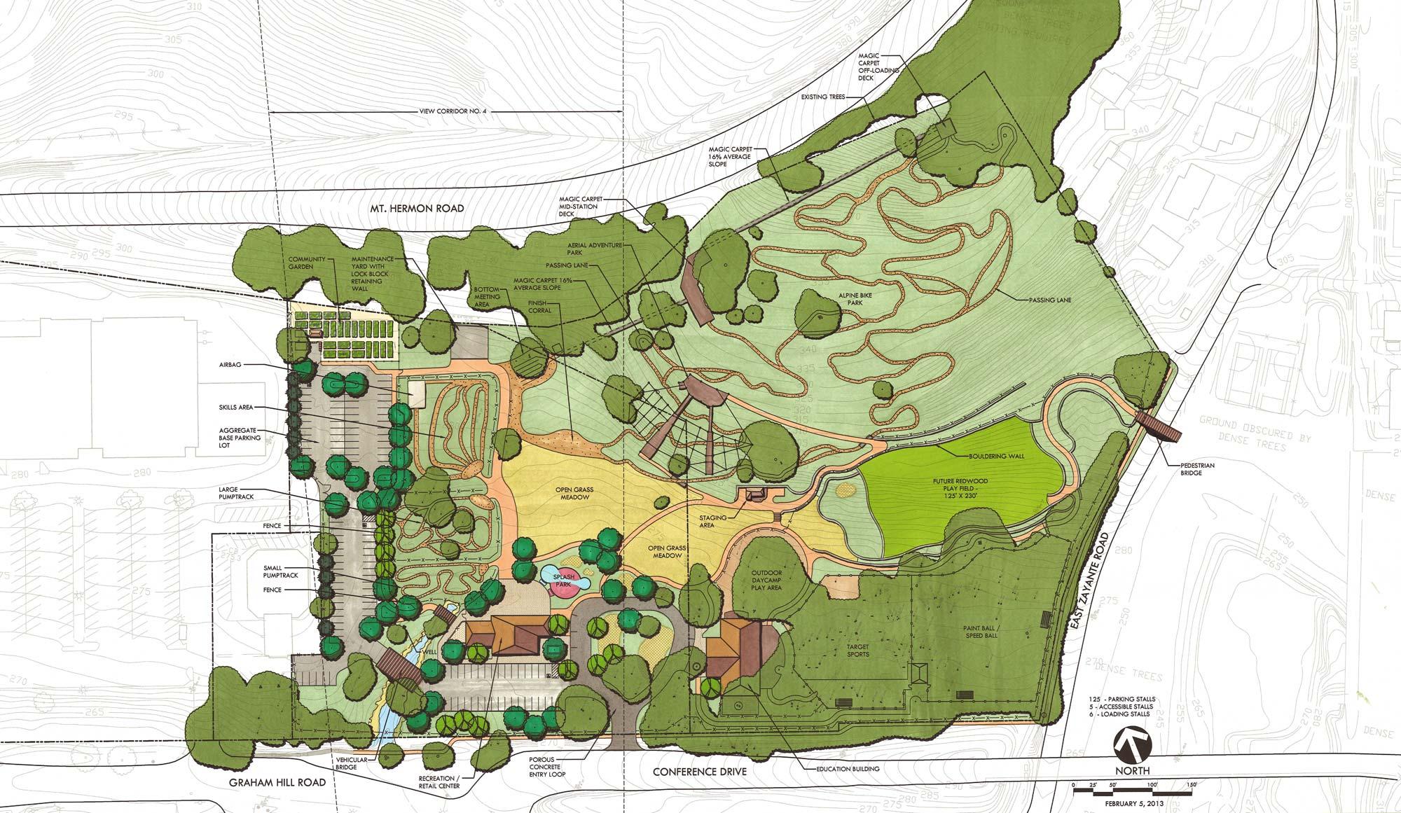 New Land Tentative Site Plan