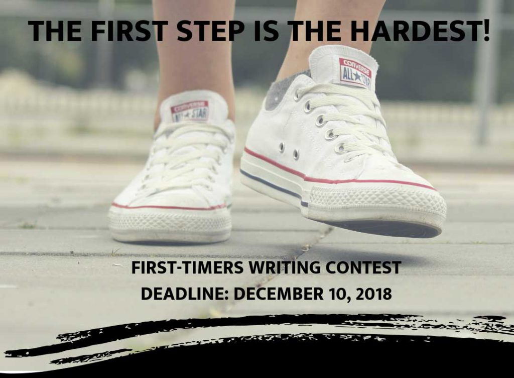 First timers contest