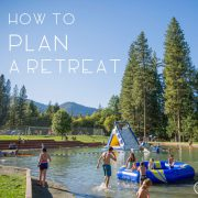How to Plan a Retreat