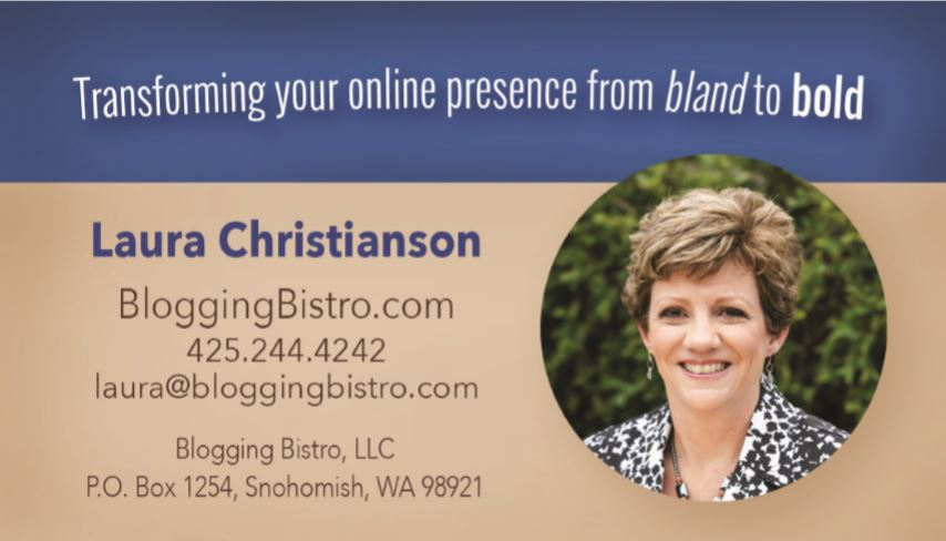 Laura Christianson business care front