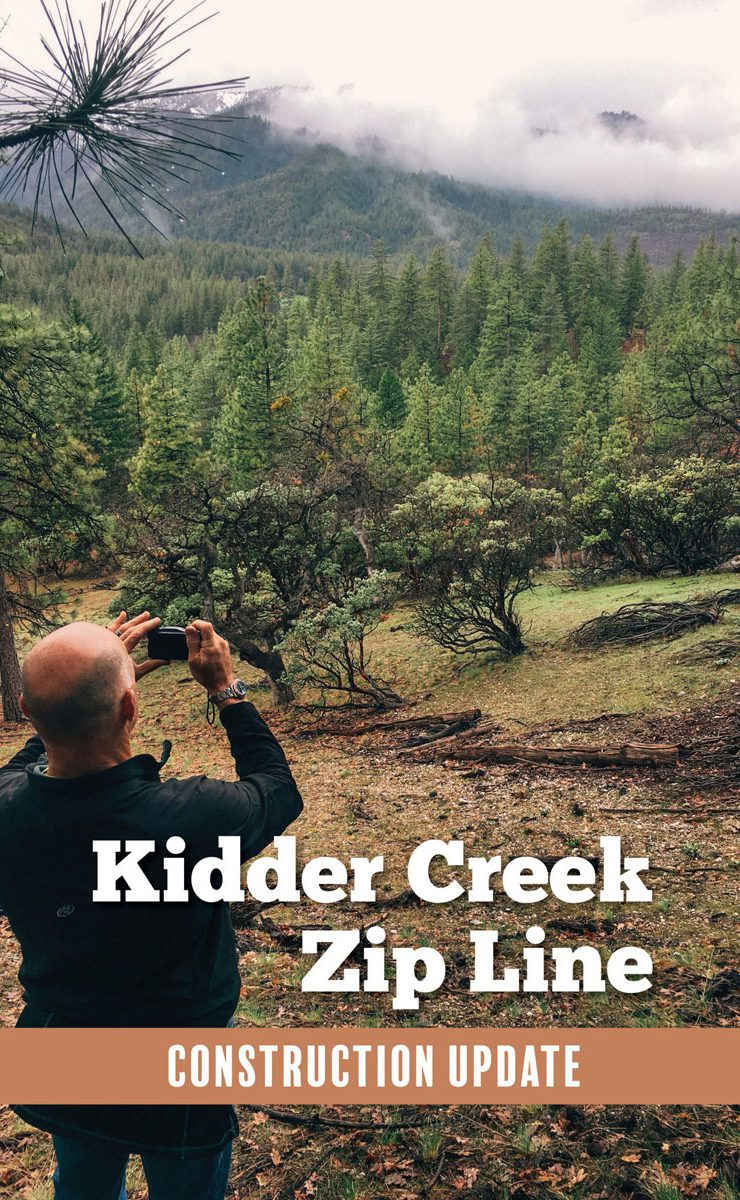 Kidder Creek Zip Line Update