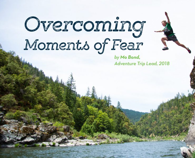Overcoming moments of fear
