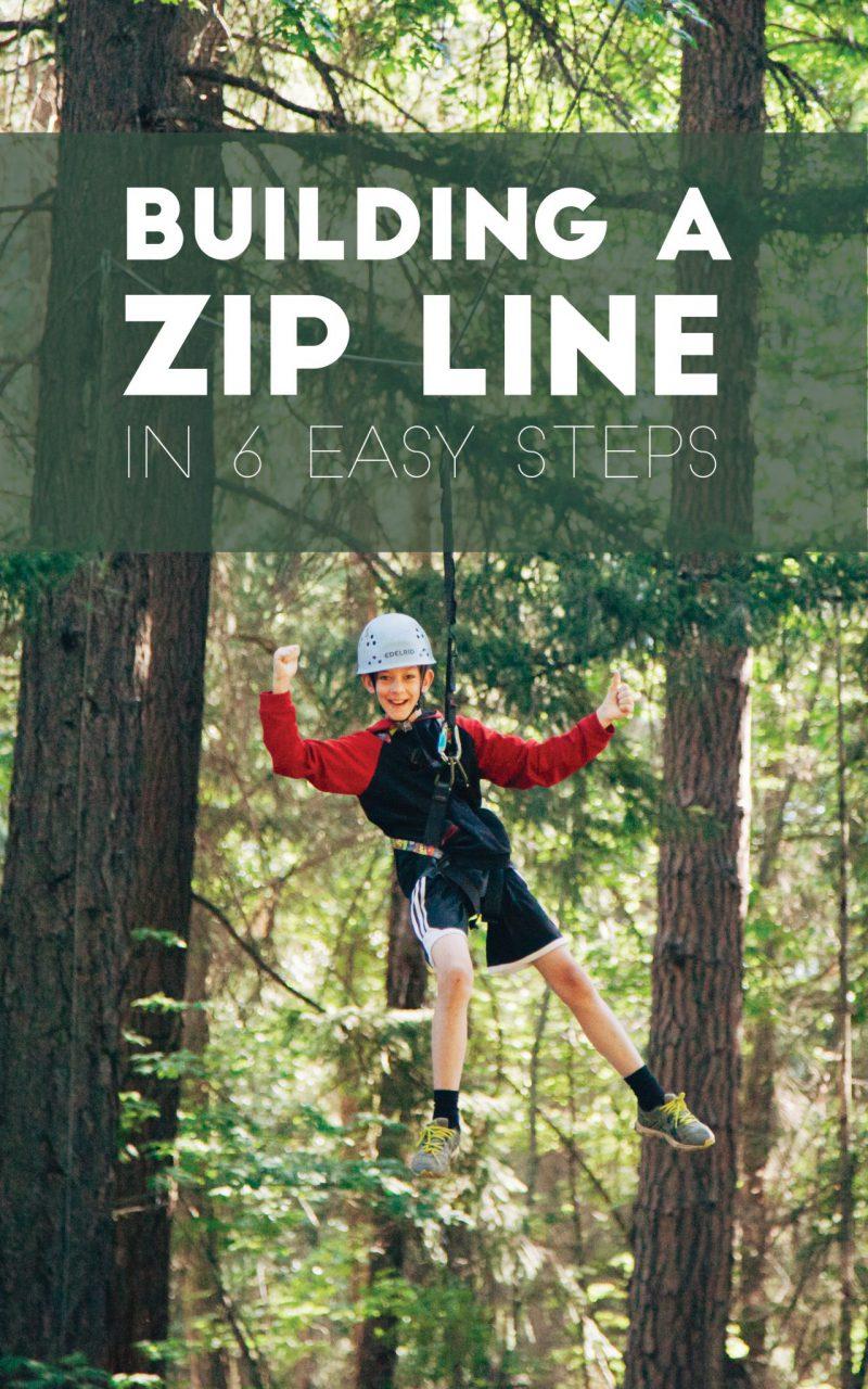 Building a Zip Line