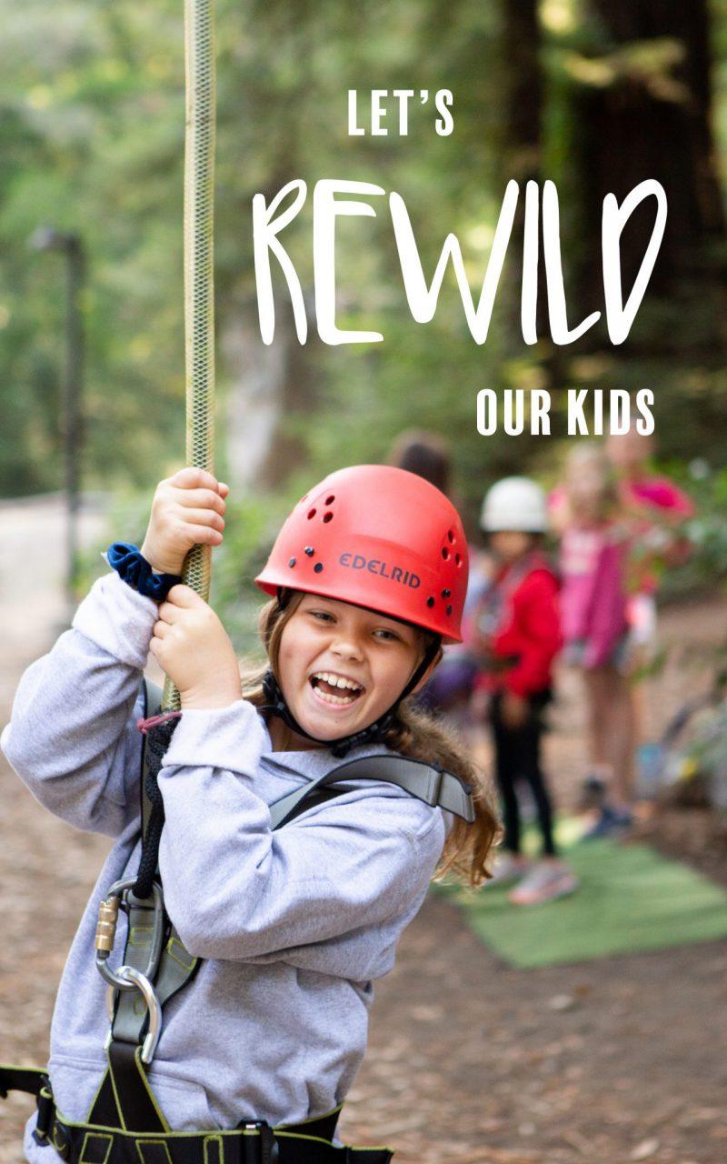 Let's Rewild our kids