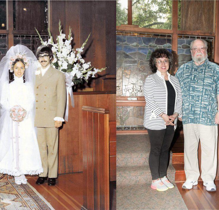Geoff and Janette Kragen 50th Wedding Anniversary