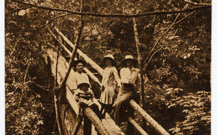 historical photo of bridge