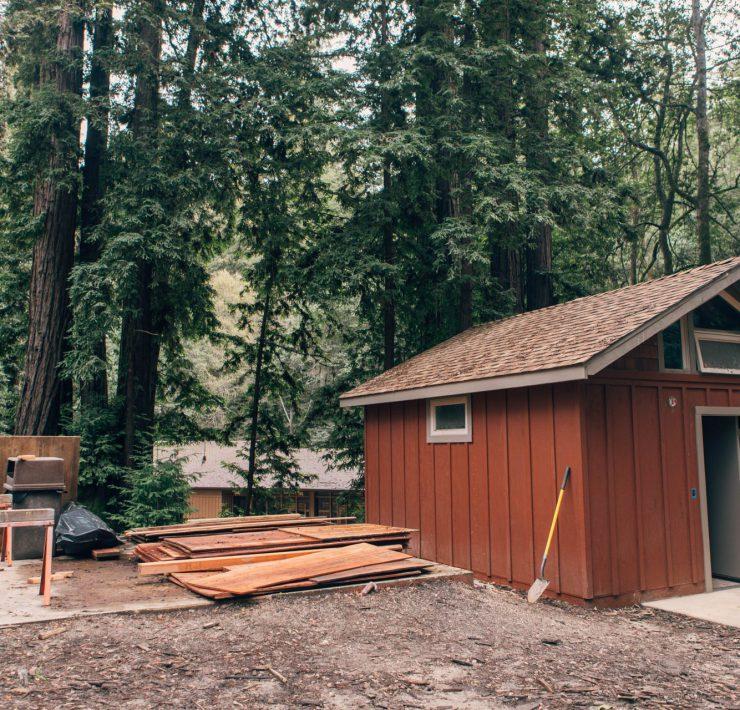 Redwood Camp cabin updates