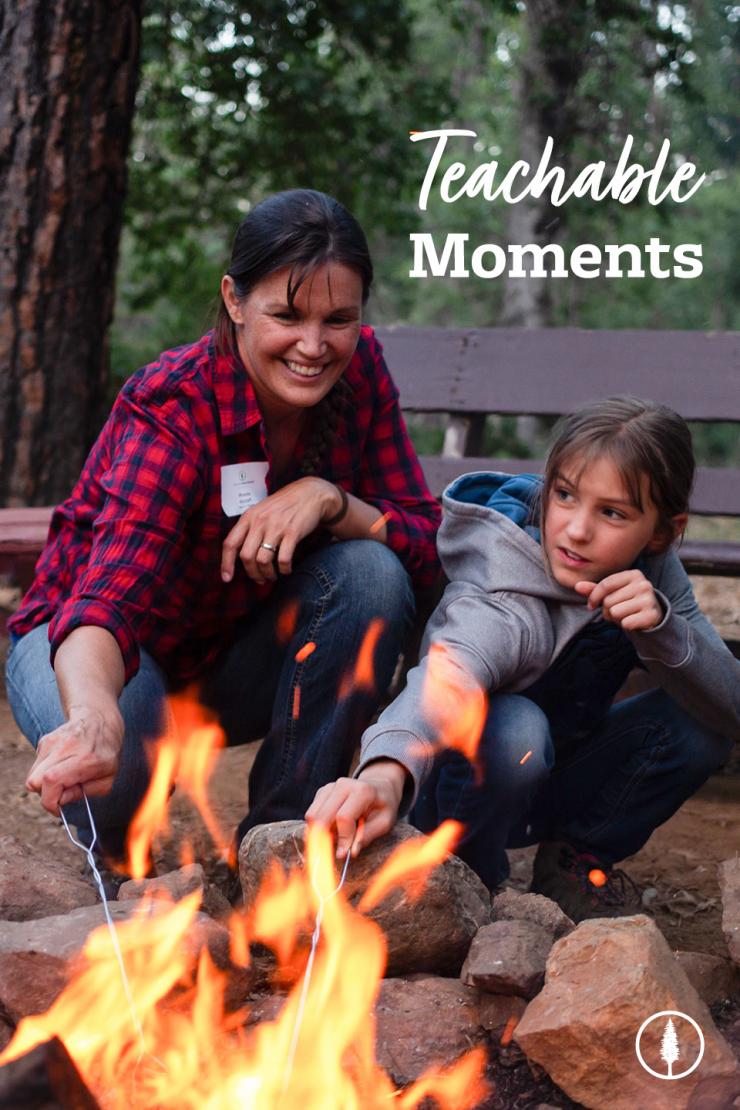 Mom and Daughter at Summer Camp